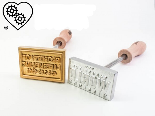 A Custom Branding Iron for Valentine's Day